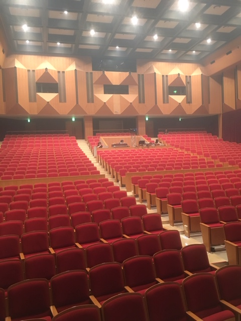 the ventures japan tour 2019, Concert Hall Interior